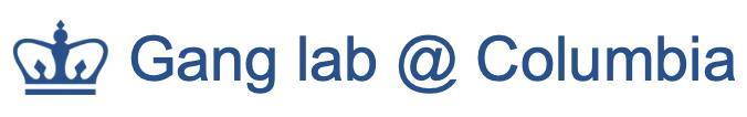 Gang lab @ Columbia  logo